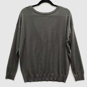 Brunello Cucinelli Cashmere Sweater Low V Back